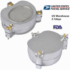 Dental Aluminium Denture Flask Compressor Parts dental Lab Equipment In US Ship