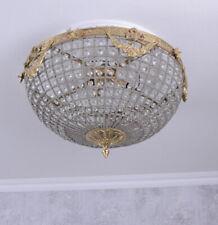Basket Chandeliers Baroque Lamp Ceiling Crystals Barocklampe Light
