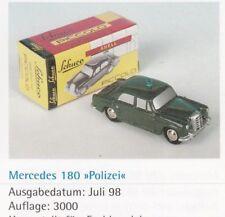 1652 - Mercedes 180 Polizei, Schuco Piccolo