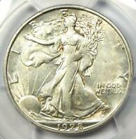 1928-S Walking Liberty Half Dollar 50C - PCGS AU Details - Rare Date Coin!