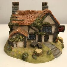 Vintage GW/EL Miniature Resin Liliput Lane Style Ornament of a Pub - 'The Bull'