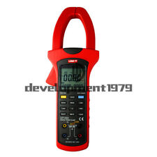 UT233 UNI-T 3-Phase True RMS ValueUSB LCD Digital Power Factor Clamp Meter