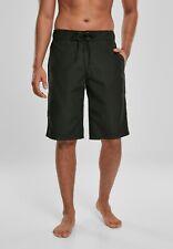 URBAN CLASSICS Pantaloncini da surf Costume da bagno uomo Black