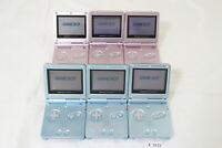 Fully Tested! Lot of 6 Nintendo GameBoy Advance SP Blue System Console GBA #3112