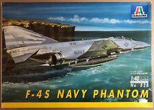 ITALERI 828 - F-4S NAVY PHANTOM - 1/48 PLASTIC KIT NUOVO SIGILLATO