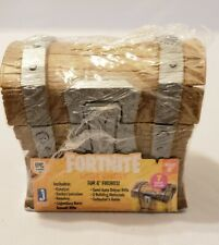 """Mystery Loot Box Fortnite 4/"""" Action Figure Accessory NEW Treasure Chest"""