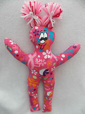 Handmade Breast Cancer Dammit Doll w/pigtails~Unique Gift idea! Hope/Healing