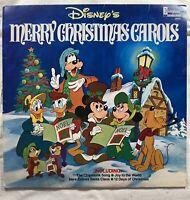 Disney's Merry Christmas Carols Vintage Vinyl LP Disney Records 2514