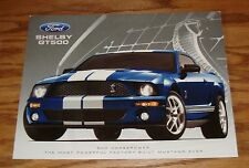 Original 2007 Ford Mustang Shelby GT500 Fact Sales Sheet Brochure 07