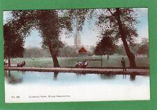 Clissold Park Stoke Newington London pc 1904 Highbury Duplex postmark Ref G365
