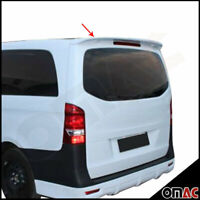For Mercedes Metris 2016-2020 Rear Trunk Spoiler Primed Unpainted Paintable