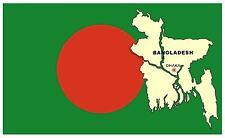 BANGLADESH MAP & FLAG - SOUVENIR FRIDGE MAGNET - BRAND NEW