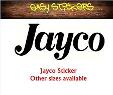 290mm older text Jayco Caravan Sticker Replacement Decal Quality Repair Graphic