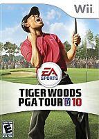 Tiger Woods PGA Tour 10, (Wii)
