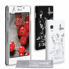 Accessories For The LG Optimus L5 2 II E460 Best Hard Floral Case Cover Skin UK
