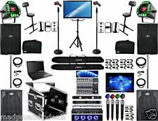Professional karaoke system Wedding Audio System Karaoke laptop Peavey PVX club