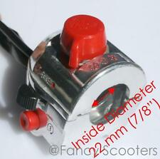 Throttle Hosing,Start & Kill Switch Light Control Diablo Chopper 110-125cc