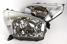 2001-2002 Toyota RAV4 European Type Electric Headlights Front Lamps PAIR