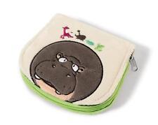 Nici 38642 Geldbeutel Nilpferd Balduin Wild Friends Plüsch 13x11 cm purse Hippo