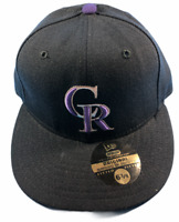Colorado Rockies MLB New Era 59FIFTY Size 6 3/4 Fitted Hat Brand New