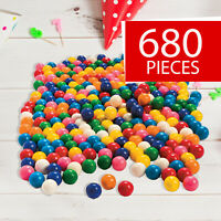 Dubble Bubble Assorted Gumballs -  680 Pieces