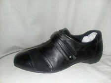 CLARKS Everyday Shoes Women's Size 10M Black Noreen Way Leather Suede Loafers