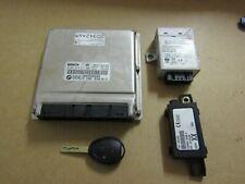 MK2 Rover 75 MG ZT Diesel Engine ECU SET NNN500340 Manual Transmission 1 key.