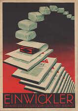 BERLIN W 9, Prospekt 1930, Oscar Ebert Gross-Druckerei Spezialität Einwickler