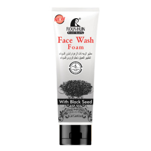 ROUSHUN FACE WASH FOAM WITH BLACK SEED BLACKHEAD CONTROL 100ML (PACK OF 2)