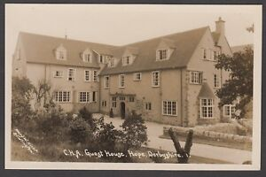 Postcard Hope near Castleton Derbyshire the CHA Guest House early RP