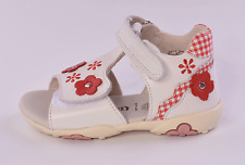 Superfit Pretty 2 Infant Girls White Leather Sandals UK 4 EU 20 RRP £39.00