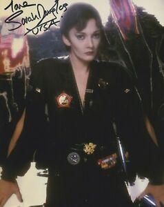"Sarah Douglas in person signed 10"" x 8"" photo - Superman - Ursa - K581"