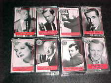 Eight (8) Radio Theater Cassettes - Mercury Theater, Screen Director's, and more