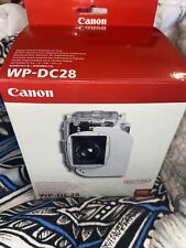 CANON WP-DC28 Waterproof Case For PowerShot G10 Digital Cameras NEW IN BOX