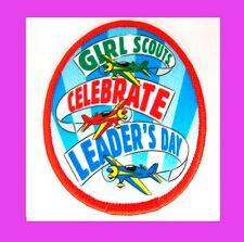 1973 Patch Girl Scout Week Free Give-a-Way LAST YEAR Collectors Multi=1 Ship