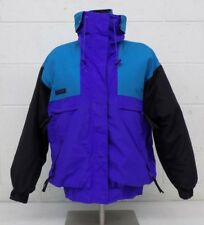 Vintage 1990s Columbia Vamoose 3-in-1 Jacket System Purple Teal Black Women's M