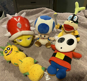 5 Lot of Super Mario Plush