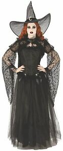 Shadowy Shrug Top Gothic Black Halloween Adult Costume Accessory - Large