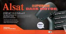 Alsat Dark Superior DiSEqC All Metal Geared Motor