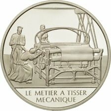 [#490097] France, Medal, Métier à tisser mécanique, Sciences & Technologies
