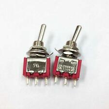New Home 2X AC 5A 125V 2A 250V ON-ON 3Pins 2 Positions Toggle Switch Tool Kit