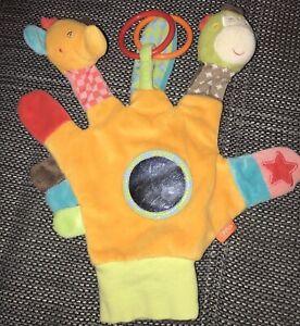 Baby Spielhandschuh/ Motorikspielzeug/ Handpuppe von Fehn
