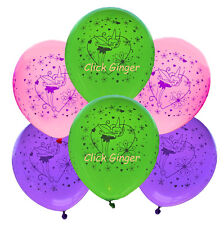 Tinkerbell Fairy Balloons x 6 Girl Party Decorations
