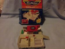 Micro Machines, Galoob, Express Freight, Boxed, Fair Condition