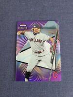 2020 Topps Finest Francisco Lindor Cleveland Indians #13 Purple 216/250