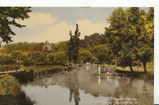 Surrey Postcard - River Wey - Guildford - Ref 13497A