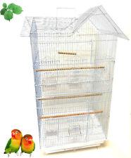 """36"""" Portable Hanging Medium Flight Bird Cage Small Parrots Quaker Cockatiels"""