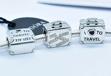 Authentic Pandora I Love To Travel Suitcase Charm 2013 Limited Edition With Box