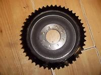 TRIUMPH T100 T120 1959-66 REAR SPROCKET 46T BRAKE DRUM BOLT ON - 37-0951