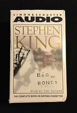 "Stephen King ""Bag of Bones"" Audiobook, 16 Cassettes, 22 hours, Read by Author"